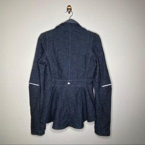 Lululemon Indigo Ride On Blazer Jacket